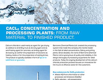 Brochure CaCl2