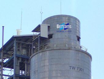 Prilling tower