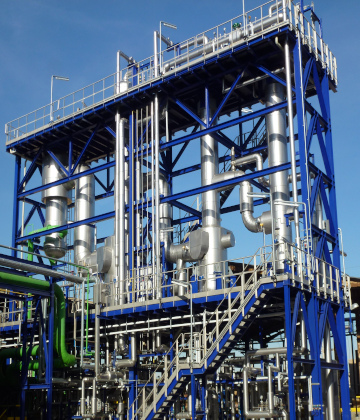 Caustic - Triple- effect evaporation unit (32-50%)